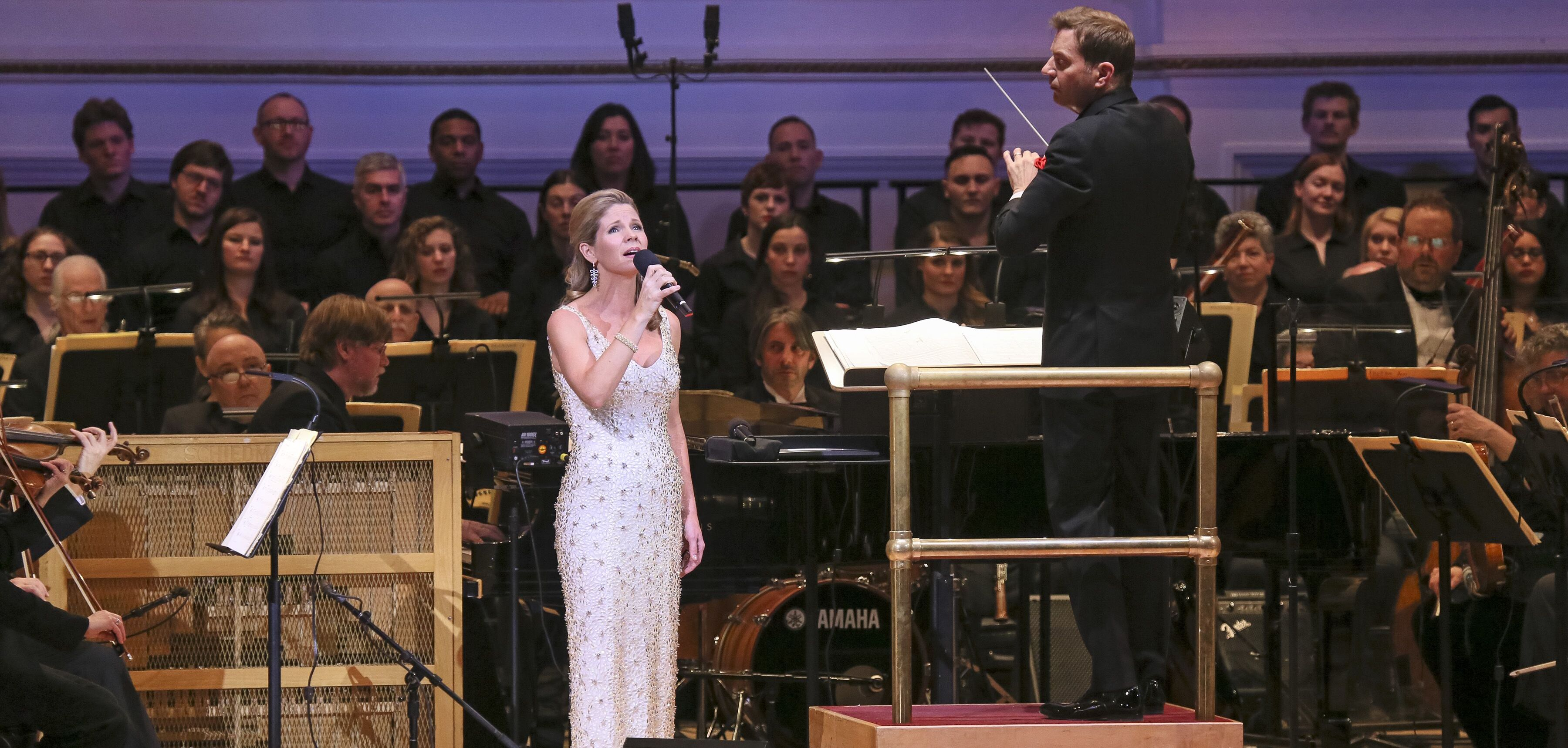 Kelli O'Hara performs with The New York Pops